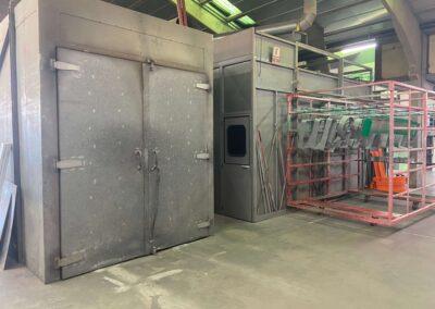Cabinas de pintura líquida